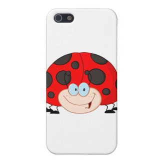 Lady Bug Cartoon Character iPhone SE/5/5s Case