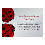 Lady Bug Chubby Business Card