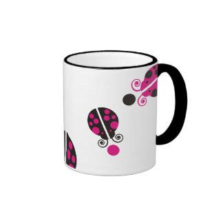 Lady Bug Coffee Mugs