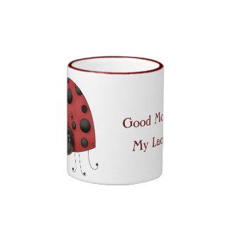 Lady Bug Cup Coffee Mug