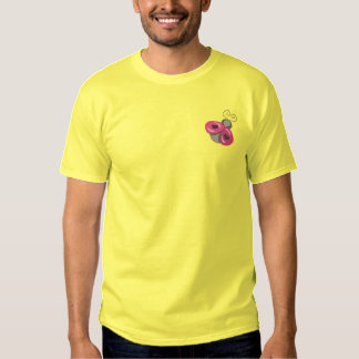 Lady Bug Embroidered T-Shirt