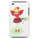Lady Bug Fairy iPod Touch Covers
