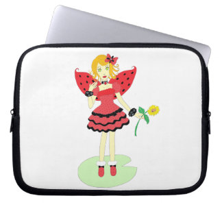 Lady Bug Fairy Computer Sleeve