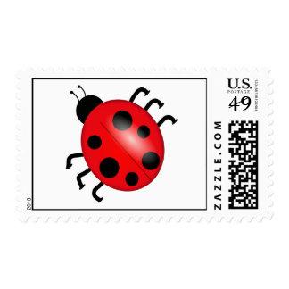 Lady Bug Fly Away Postage