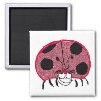 Lady Bug Fridge Magnets