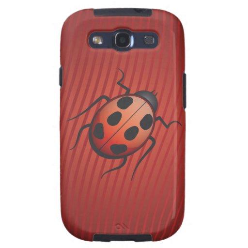 Lady Bug Galaxy S3 Cases