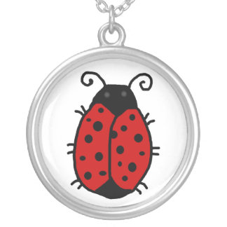 Lady Bug: Good Fortune necklace