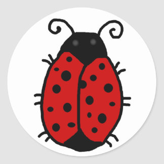 Lady Bug: Good Fortune stickers