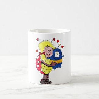 """Lady Bug"" holding stuffed animal! Coffee Mug"