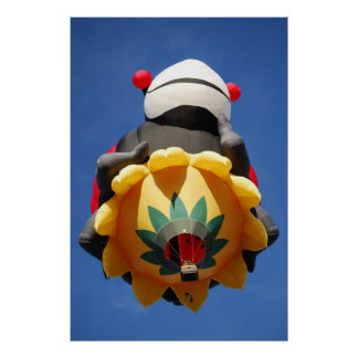 Lady Bug Hot Air Balloon 2 Poster