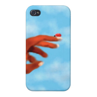 Lady bug  Iphone Case Cases For iPhone 4
