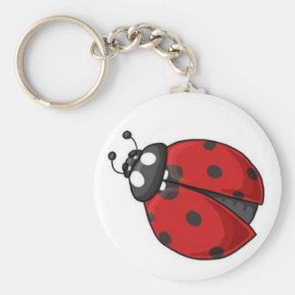 Lady Bug key Chain