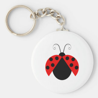 Lady Bug Keychain