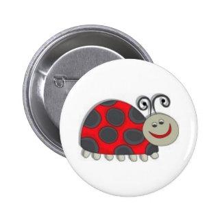 lady bug kids pin