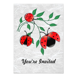 Lady Bug, Lady Bugs Fly Away Home Card