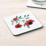 Lady Bug, Lady Bugs Fly Away Home Drink Coaster