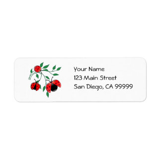 Lady Bug, Lady Bugs Label
