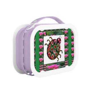 LADY BUG  LADYBUG EXOTIC LUNCH BOX