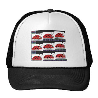 Lady Bug LADYbug Insect Fantasy Design Artistic Trucker Hat