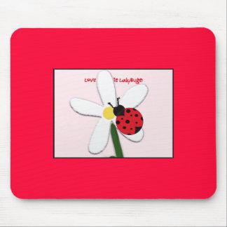 Lady Bug Lovin Mousepad