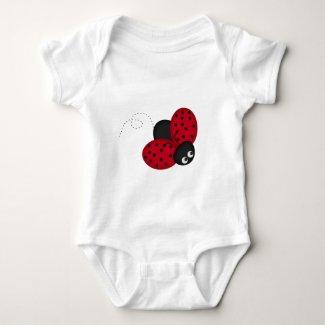 Lady Bug Luck Baby Bodysuit