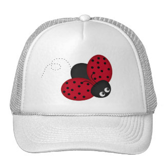 Lady Bug Luck hat