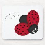 Lady Bug Luck mousepad
