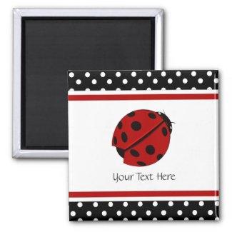 Lady Bug Magnet magnet