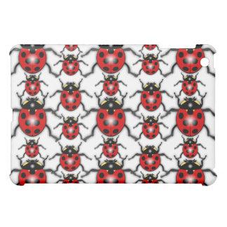 Lady Bug Mania iPad Mini Cover