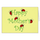 Lady Bug Mother's Day Card