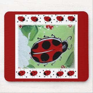 Lady-Bug Mouse Pad