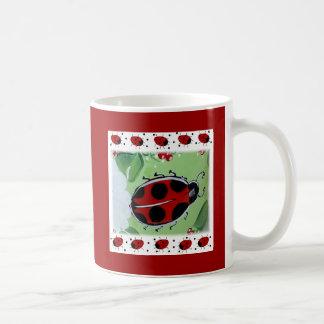 Lady-Bug Coffee Mugs