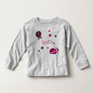 Lady Bug Personalized Infant Wear Toddler T-shirt