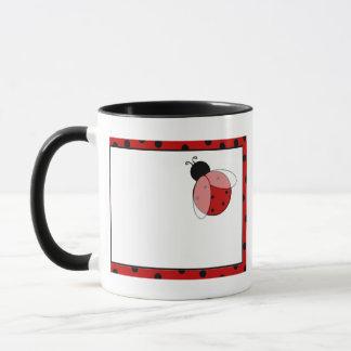 Lady Bug Polka Dots Mug