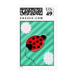 lady bug postage