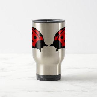 Lady Bug Stainless Steel 15 oz Travel/Commuter Mug