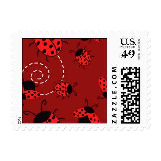 lady bug stamp