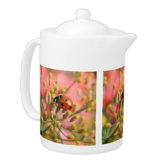 Lady Bug Tea Pot
