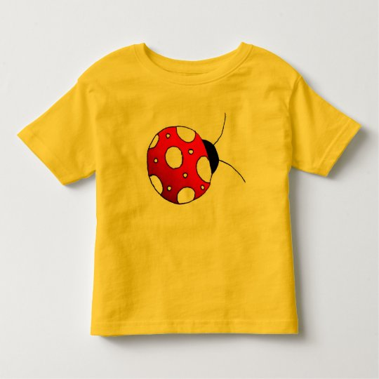 Lady bug toddler t-shirt