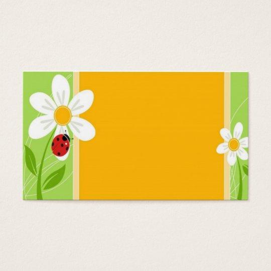 Lady Bug Trails Business Card