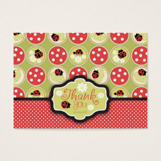 Lady Bug TY Gift Tag