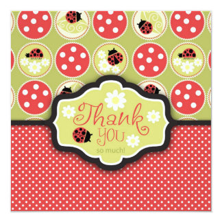 Lady Bug TY Square Card