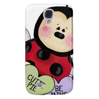 Lady bug Valentine Galaxy S4 Case
