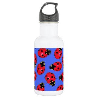 Lady Bug Water  Bottle 18oz Water Bottle