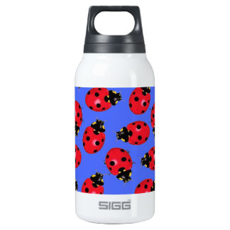 Lady Bug Water  Bottle 10 Oz Insulated SIGG Thermos Water Bottle