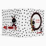 Lady Bugs and Polka Dots Teacher's Class Planner Vinyl Binders