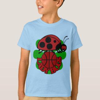 Lady Bugs Basketball T-Shirt