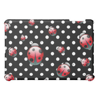 Lady Bugs Gone Wild iPad Mini Case