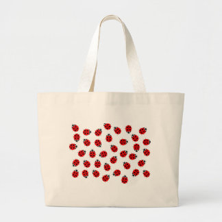 Lady Bugs Items Jumbo Tote Bag