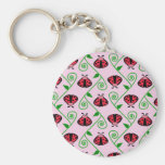 lady bugs key chains